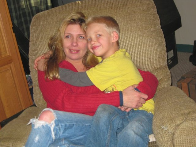 After an ordeal almost too horrible for regular country folk in West Virginia to imagine in the little rural towns that make up the many counties in the mountainous state of West Virginia Tammy Rucker now has a nice home and enjoys time with her son shown in this picture.