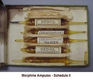 morphineampulesscheduleii