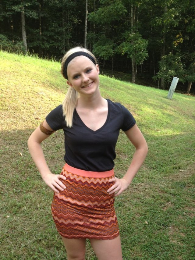Bree Wolfe who was a senior at GCHS and graduated in 2013 has a attraction for BLACK MEN who she feels could be big time NBA stars or rappers, but did admit to having sex with the football coach and teacher at Gilmer County High School Jason Cunningham at an after hours party.