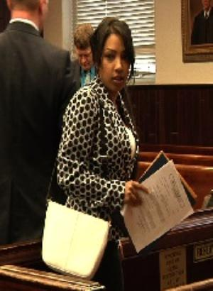 "Salwa Amin in court before she pleaded guilty the night before her trial date. Now she is just somebody's ""Baby"" in Jail at CRJ! ""SHE BE MY BITCH!!"""