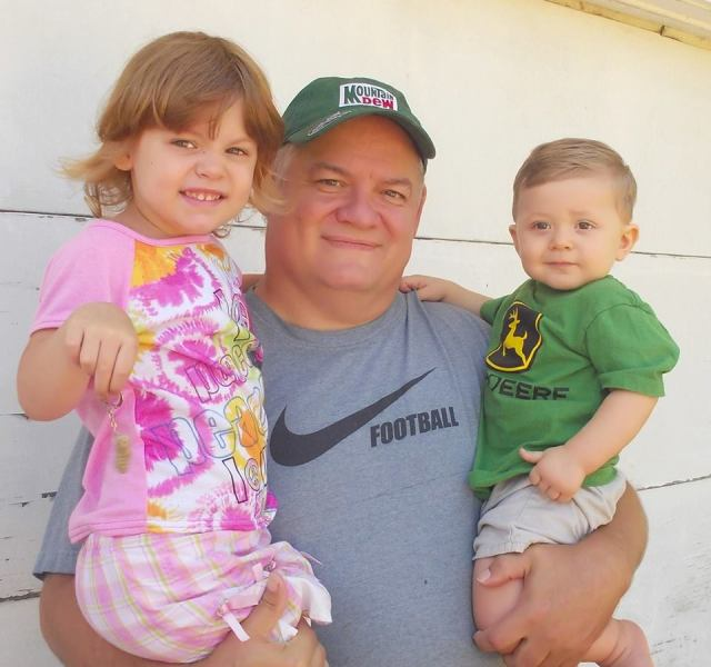John Manis Richards in a recent photo with his children. John just filed a complaint with the Judicial Investigation Commission in regard to the misconduct of Circuit Court Judge Timothy L Sweeney.