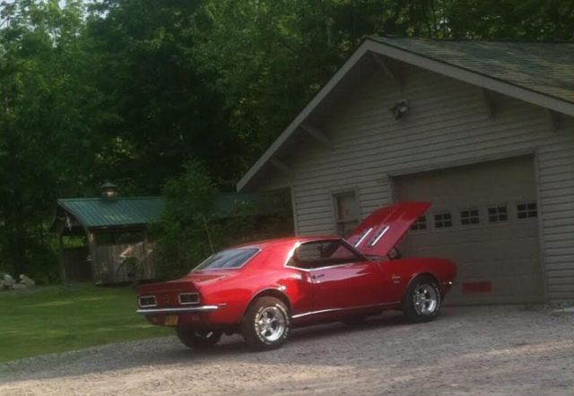 1968 Camero that was given with about 25,000 dollars cash for the Willard Cottrill Estate in  Linn. This is the car Richard Neal gave up with some cash to purchase some 40 odd acres of the Cottrill estate. It has been four years and the Gilmer County Commission has still not closed out the Cottrill estate which seems to have as much misconduct being discovered as the infamous AJ Woofter estate debacle, where the Butcher and Butcher law offices refused to do an accounting for 12 years, although  accounting's were requested by attorneys for five years prior to the account finally being settled in 2007.